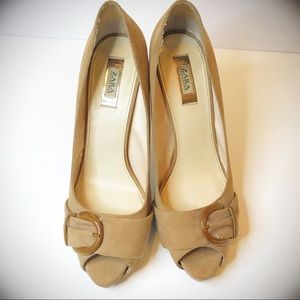 Zara Collection Heel Pumps Size 39